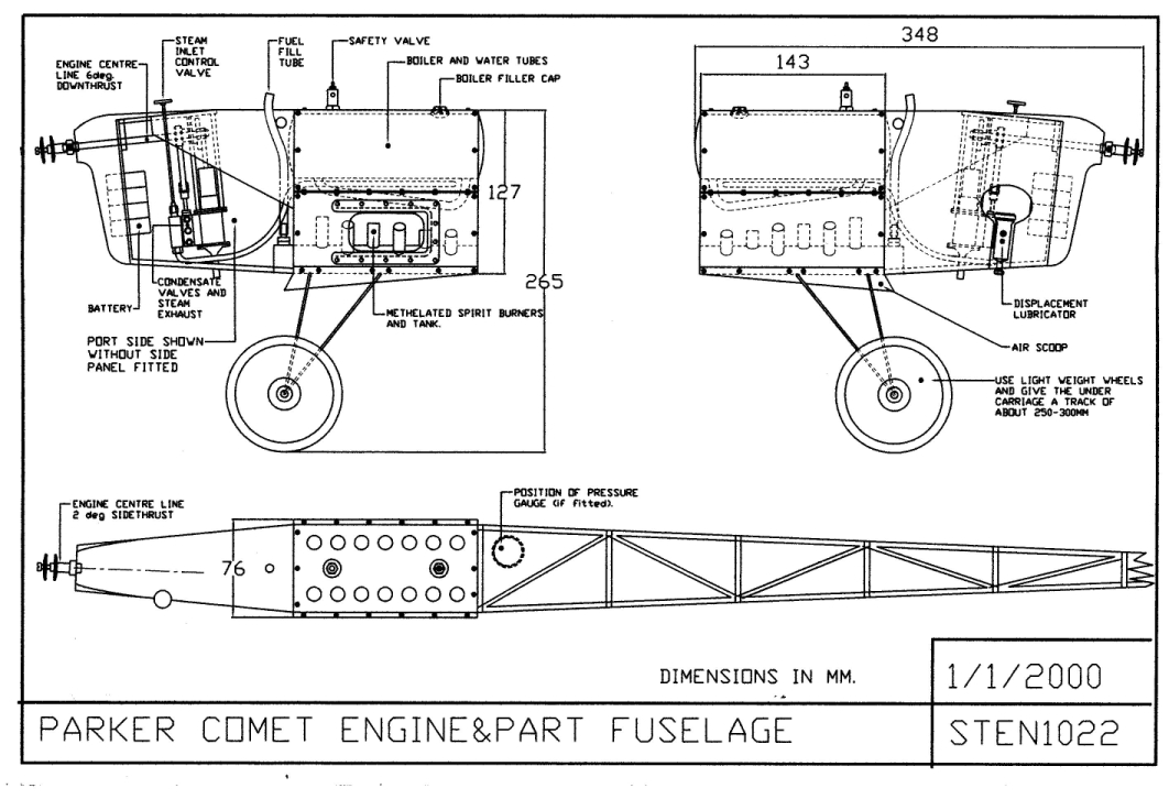 flying steam engines - Homemade Steam Generator Plans